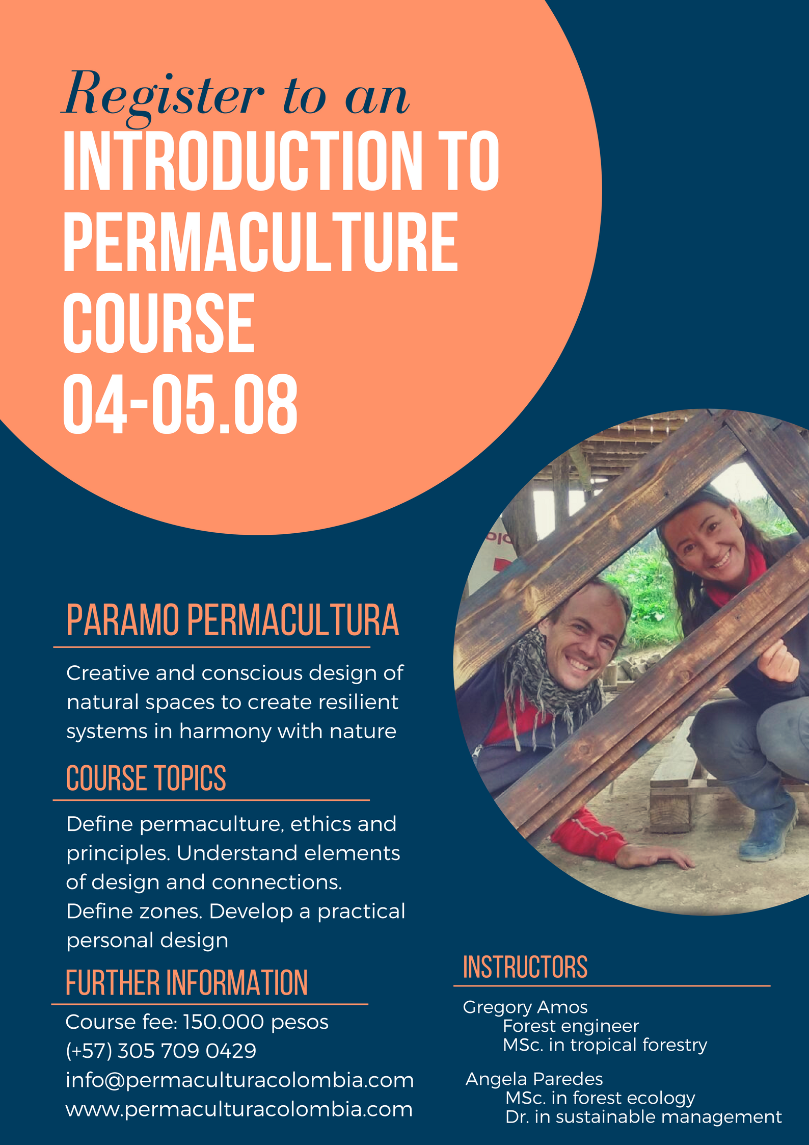 Introduction to Permaculture Course - August 2018